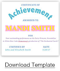 Certificates and Templates | PaperDirect\'s